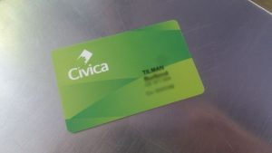 The Civica card gives you access to the Metro System in Medellín.