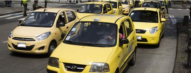Taxis in Medellín
