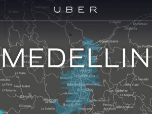 Uber arrived to Medellín.